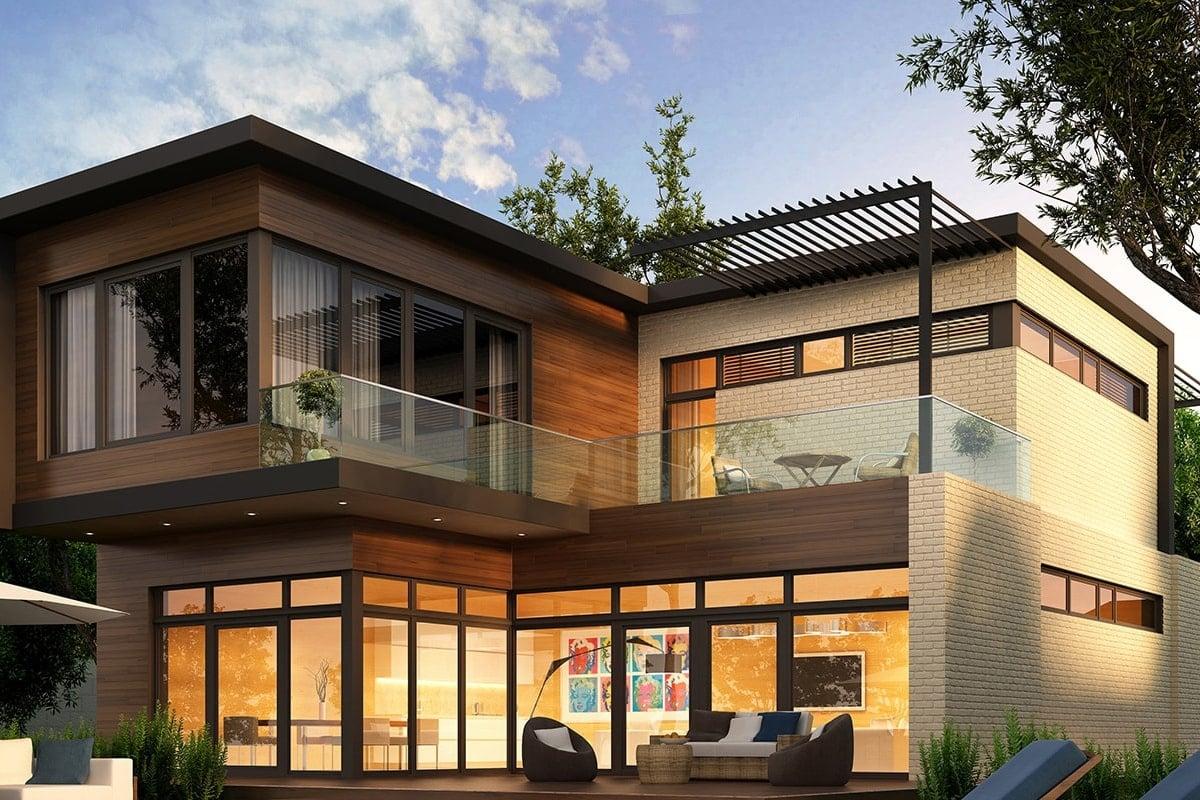 Modern two-storey villa