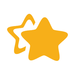 Two stars icon