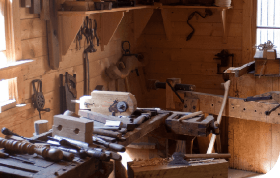 Woodworking station