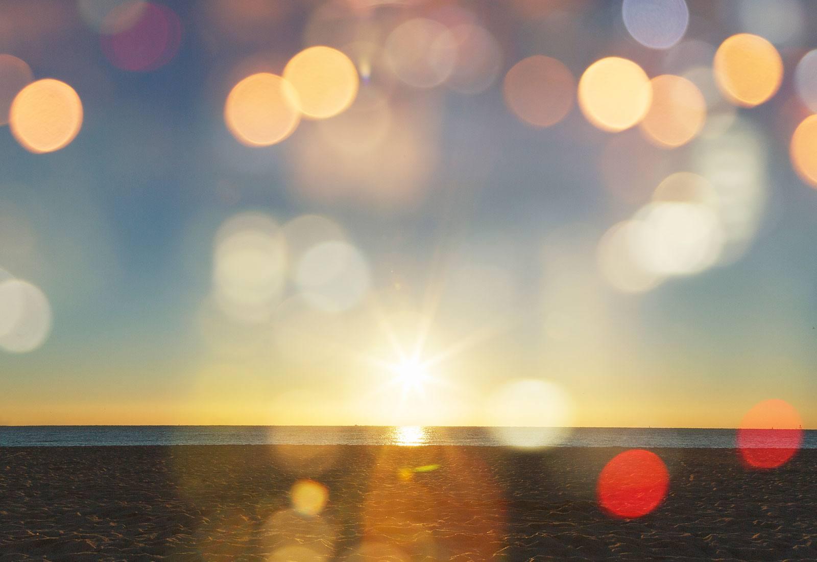 Sun and a beach