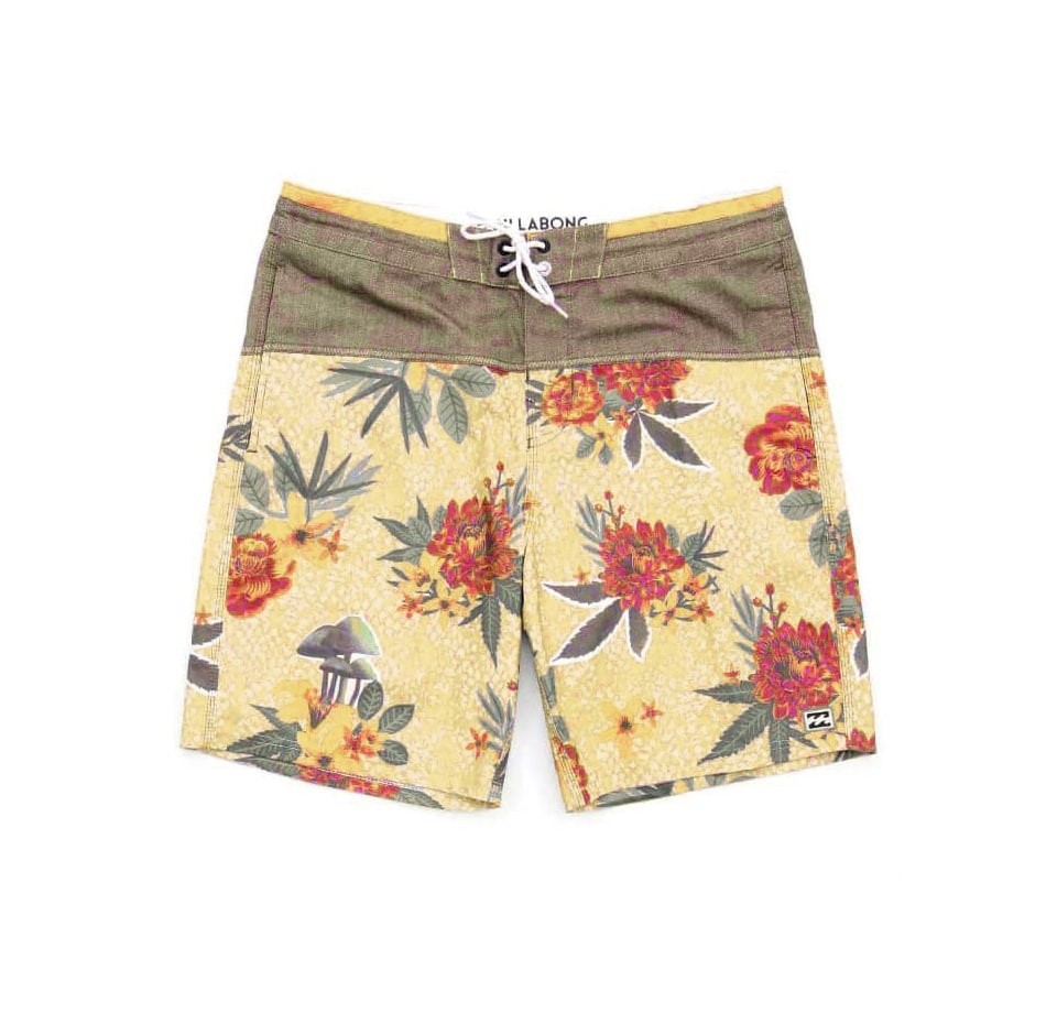 Men's summer floral shorts